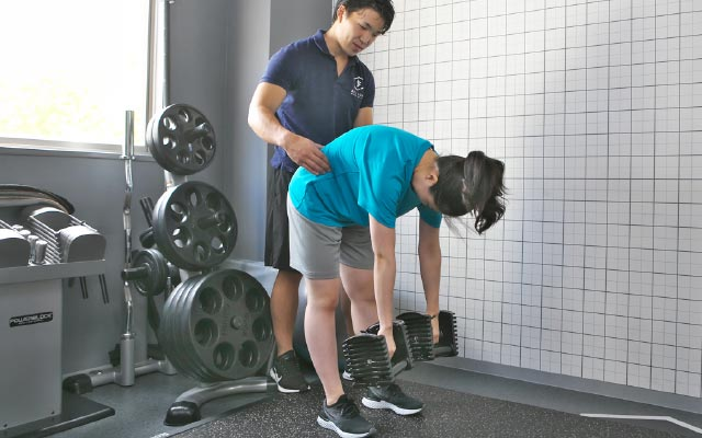 BELIONでの腰痛のアプローチの一例を紹介
